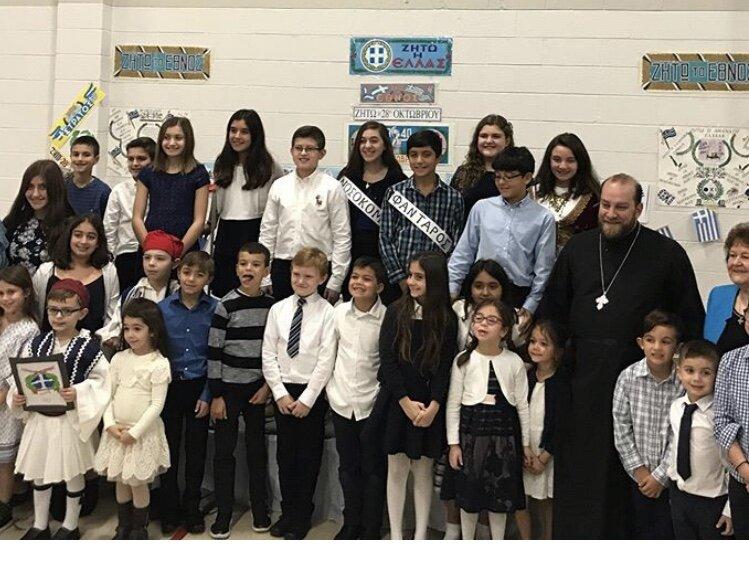 Greek School Program