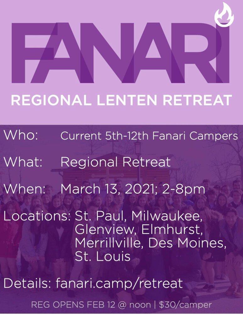 Fanari Lenten Retreat
